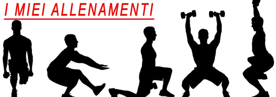 Clicca per vedere gli allenamenti di quest'anno